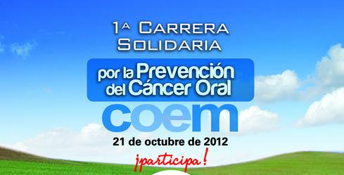 carrera solidaria cancer oral coem