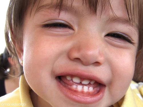 Cuidar los dientes del bebé