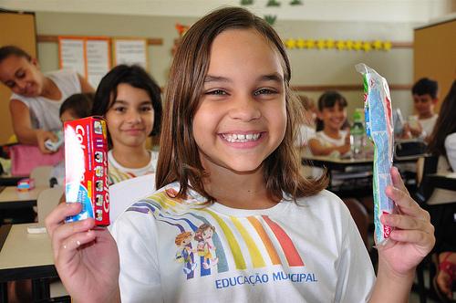 La higiene oral en escolares de primaria