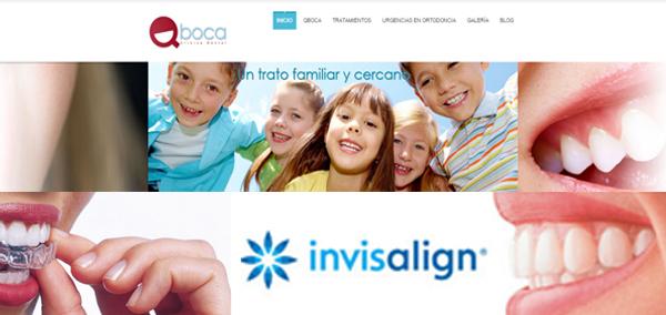QBoca, clínica dental en Pozuelo de Alarcón, estrena nueva web