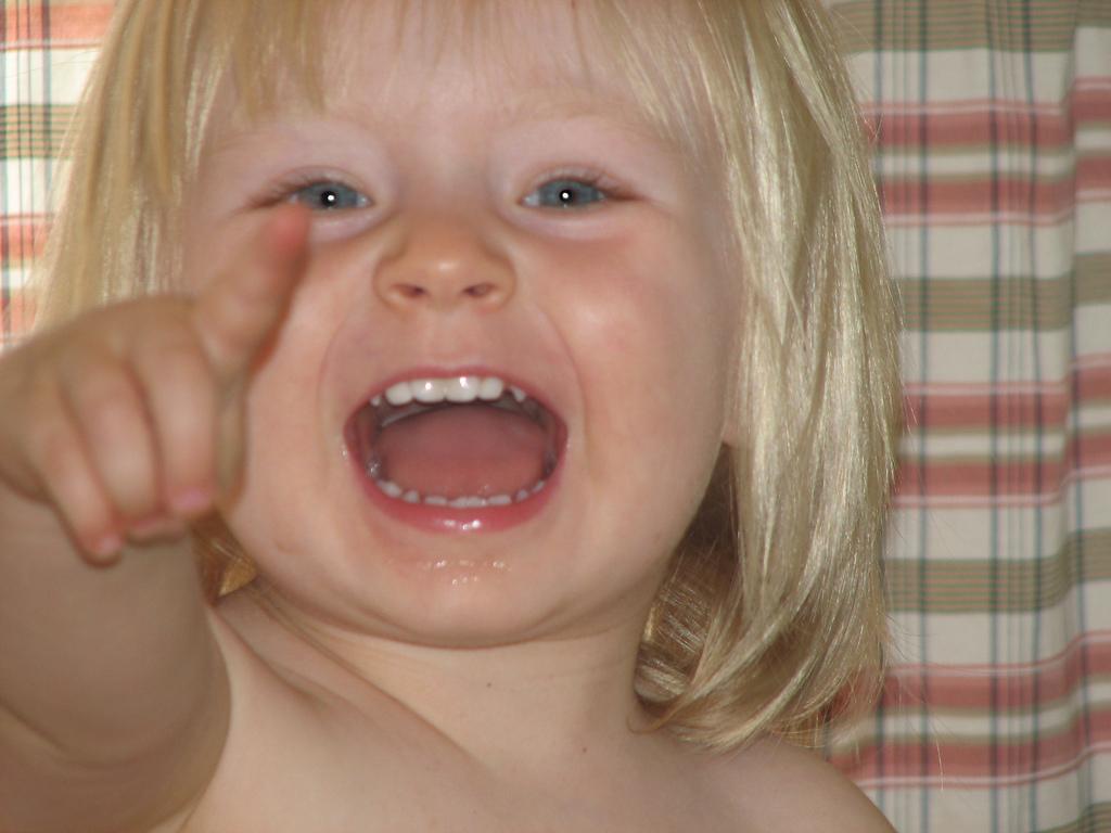 La dolorosa erupción de dientes