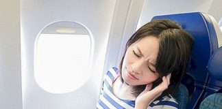 dolor diente avion