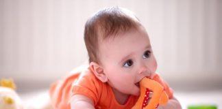 bebe salud bucal