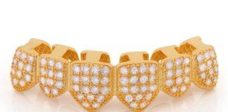 grills de oro y diamantes