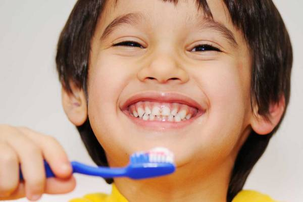 higiene dental niños