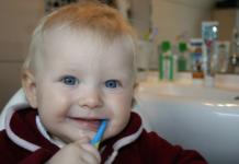 Salud dental en bebés