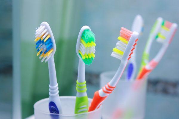 cepillos dentales separados