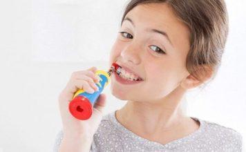 niños cepillo dental electrico