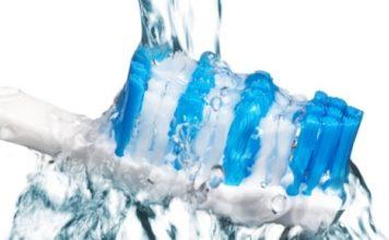 lavar cepillo dental