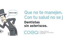 """""""Dentistas sin asteriscos"""", la campaña del COEA para informar sobre la salud bucodental"""
