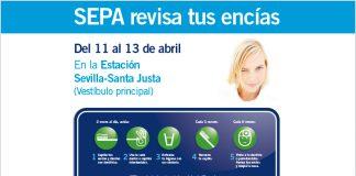 La Campaña 'Cuida tus Encías' tendrá un stand en la Estación Sevilla-Santa Justa