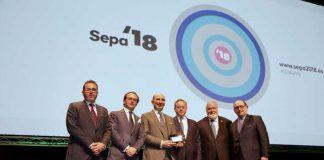 Maurizio Tonetti, Medalla Platino de la Fundación SEPA de Periodoncia e Implantes Dentales