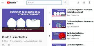 SEPA promueve videos divulgativos para ayudar a la población a cuidar sus implantes