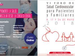 Este 17 de mayo se inicia una nueva edición del curso 'Cómo promover la salud cardiovascular desde la consulta dental'