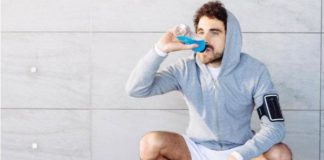 deportista salud dental