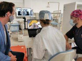 simulador dental 3d haptico